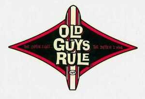 Aufkleber Old Guys Rule The older I get, the better I was! Tikki Surf Beach Maui