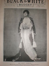 Printed photo actress Violet Vanbrugh 1903