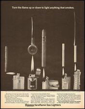 1963 Ronson Varaflame Gas Lighters (121112)
