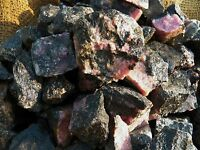 500 Carat Lots of Rhodonite Rough - Plus a FREE Faceted Gemstone