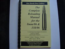 8mm/06 & 338/06  The Complete Reloading Manual Load Books Latest Version