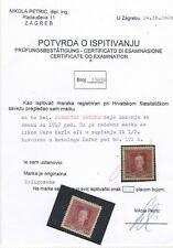 Bosnia - rare perforation - certificated !