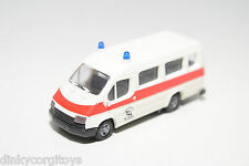 PRALINE FORD TRANSIT VAN AMBULANCE WHITE NEAR MINT CONDITION