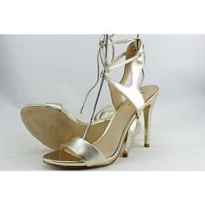 GUESS Christa Womens HEELS & PUMPS Gold Leather 10 US / 8 UK