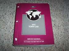1997 Lincoln Town Car Shop Service Repair Manual Executive Signature Cartier V8