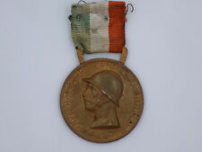"Italian Kingdom Wwi ""Great War"" Commemorative Medal - Gilt"