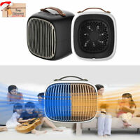 Small Portable Electric Space Heater 1000 Watt Ceramic Element Room Under Desk
