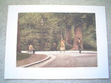 "HAROLD ALTMAN - Original Lithograph ""Destinations"" - Signed & Numbered - COA"