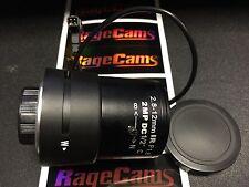 2.8-12mm Wide-Narrow DC Iris Zoom C Mount Camera Security 2 Mega Pixel Lens 2mp