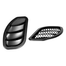 Daystar Side Hood Vents - Black - Pair for 07 - 16 Jeep Wrangler JK # KJ71048BK