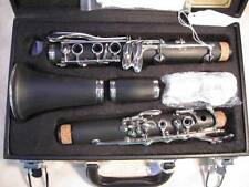 Deluxe Musikwerks Student Bb Clarinet-Ebonite w/Post Locking Screws-Rich Tone!
