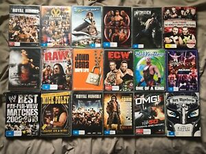 WWE DVD COLLECTION / BUNDLE x18