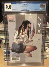 Nyx 4 CGC 9.0 1st Of Tatiana ,X-23 Appearance