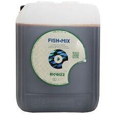 Fish Mix 5Lt Biobizz Fertilizzante Organico - Concime per la Crescita Vegetativa