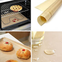 BG_ AU_ Reusable Non Stick Liner Oven Microwave Bread Baking Paper Craft Sheet P