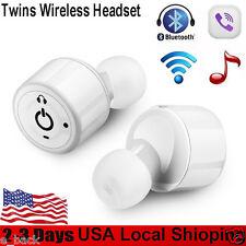 Mini TWS Twins True Wireless Bluetooth Stereo Headset In-Ear Earphones Earbuds