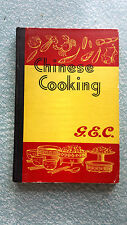 CHINESE COOKING by G.E.C. for use with ELECTRIC KWALI COOKERS c1950s HB