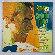 FRANK SINATRA Sinatra And Swingin' Brass LP 1962 - R-1005 - VG+