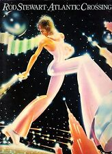 Rod Stewart-Atlantic Crossing-1977 Folio Songbook for Piano Vocal Guitar-OOP