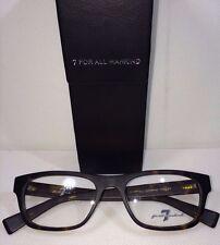 New 7 Seven For All Mankind 712 TORT Unisex Tortoise Eyeglasses 53-19-143