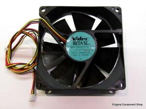Nidec Beta SL 92mm 0.14A  24V Fan. D09T-24PG20B. UK Seller - Fast Dispatch.