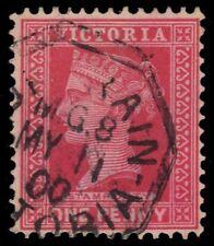"""COLONY of VICTORIA 181i (SG357) - Victoria (pf83416) RARE Octagonal """"UP TRAIN"""""""