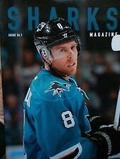 San Jose Sharks NHL hockey magazine program issue 24:1 2014 #8 Joe Pavelski