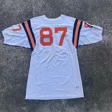 Vintage 50s Champion Knitwear Co. #87 Football Jersey Size 44