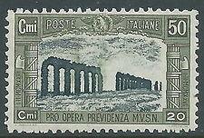 1928 REGNO MILIZIA 50 CENT MNH ** - Y205-2