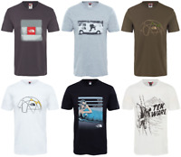 THE NORTH FACE TNF Celebration Easy Cotton T-Shirt Short Sleeve Tee Mens New
