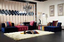 VIG Contemporary Divani Casa Dubai Multicolor Fabric Modular Sectional Sofa