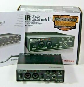 Steinberg UR22 mkII Home Audio Recording Interface USB Powered - TESTED