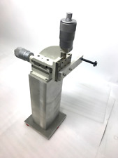 """Line Tool Company Model H 3 Axis Micropositioner Starrett 11 3/4"""" Base"""