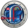 2 Euro Commémorative Slovaquie 2018 en Couleur Type A - République Slovaque