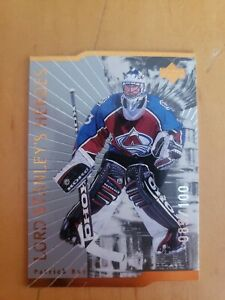 1998 Upper Deck Lord Stanley's Heroes Quantum 85/100 Patrick Roy SEE PHOTOS