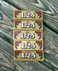 FIVE+%285%29+PACKS++JOB+Gold+1+1%2F4+1.25+Rolling+Papers