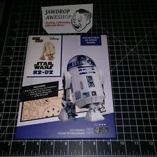 Star Wars R2-D2 Collectible Wood 3D Model