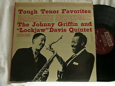 JOHNNY GRIFFIN & EDDIE LOCKJAW DAVIS Tough Tenor Favorites Horace Parlan LP