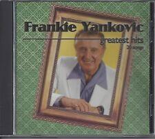 "FRANKIE YANKOVIC   ""Greatest Hits - 20 Songs""  NEW SEALED POLKA CD"
