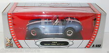 Road Signature 1964 SHELBY COBRA 427 S/C BLUE 1/18 DIECAST NEW IN BOX 92058BL