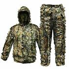 Upgrade Ghillie Suit Outdoor 3D Lifelike Super Lightweight Hooded Camouflage Clo