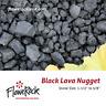FloweRock 5LB Black Lava Rock - Nugget