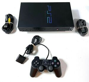 Original Sony PlayStation 2 PS2 Fat Console System Complete Bundle READY 2 PLAY!