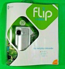 ✰✨Flip Video Camera Pocket Digital Camcorder VGA - F130W White - Sealed - 2007✰