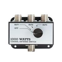Professional CB Radio Coax Antenna Switch 1000 W Coaxial Antenna 3 Position