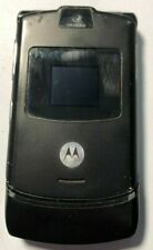 READ FIRST Motorola RAZR V3 Black AT&T Cell Phone Fast Good Used Parts Repair