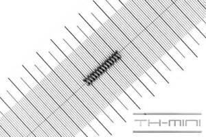 Druckfeder Drahtstärke: 1mm, Außen Ø: 5,1mm, Länge: 23mm, Edelstahl