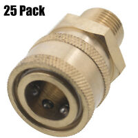 """Pressure Washer Quick Connect 1//4/"""" Socket Coupler Insulated Grip for Hot Water"""