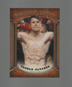 2014 UD Goodwin Champions Canelo Alvarez RC Rookie #13 Boxing Please Read!