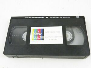 Rare VHS Whitney Houston Live Official Opening Sanctuary Cove 1988 Australia